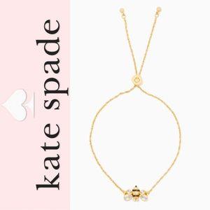 Kate Spade Picnic Perfect Bee Slider Bracelet